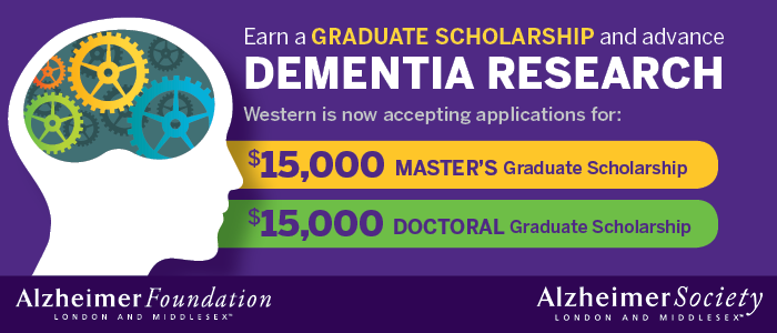 Western University, Graduate Studies - Alzheimer Foundation