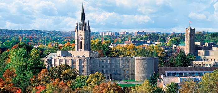 Western University, Graduate Studies - Towers in the Fall