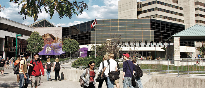 Western University, Graduate Studies - University Community Centre Path