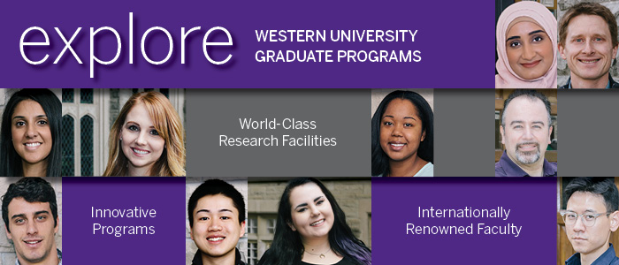 uwo graduate studies thesis Financing your graduate studies past or current students of the university of western ontario must upload unofficial transcripts or a copy of the web academic report for their academic graduate admissions school of graduate and postdoctoral studies international and graduate.