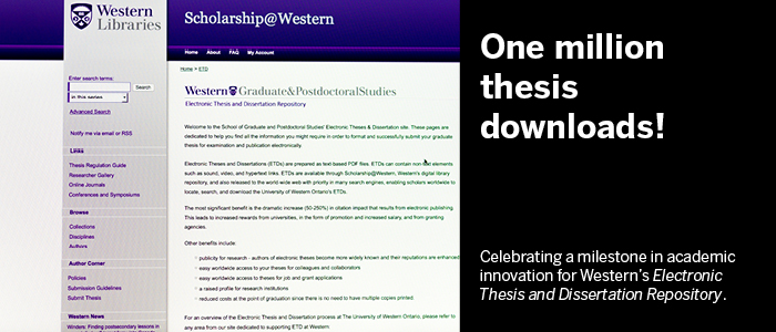 uwo sgps thesis Graduate theses which have been published since 2010 are available for viewing and downloading on western's electronic thesis and dissertation repository sgps.